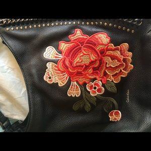 d80245da7c2c Calvin Klein Bags - Calvin Klein Samira Slouchy Pebble Leather Hobo